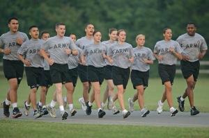 Running is like fast walking!