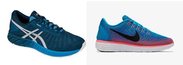 Duel review: Asics FuzeX Lyte vs. Nike