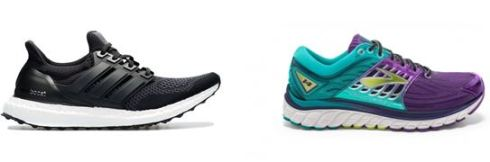 Photos by (L to R) Adidas & Brooks