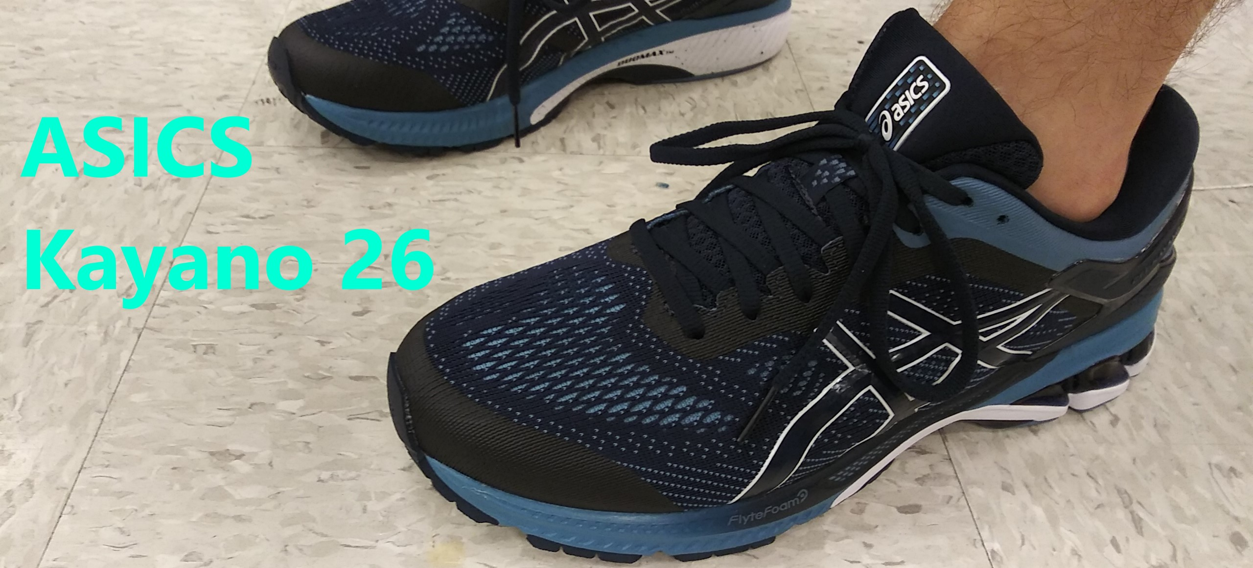 Asics Kayano 26 Review – Sun and Sole
